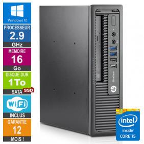 PC HP 800 G1 USDT Core i5-4570S 2.90GHz 16Go/1To SSD Wifi W10