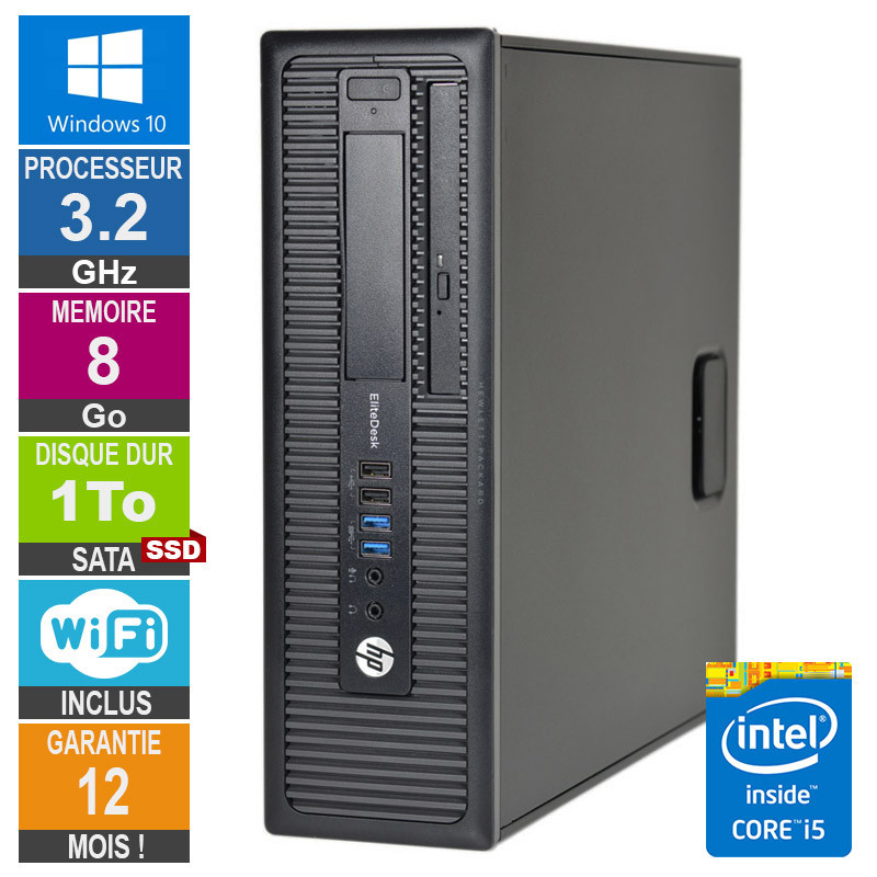 PC HP 800 G1 SFF Core i5-4570 3.20GHz...