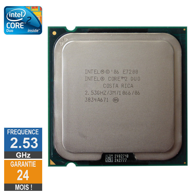 CPU Intel Core 2 Duo E7200 2.53GHz...