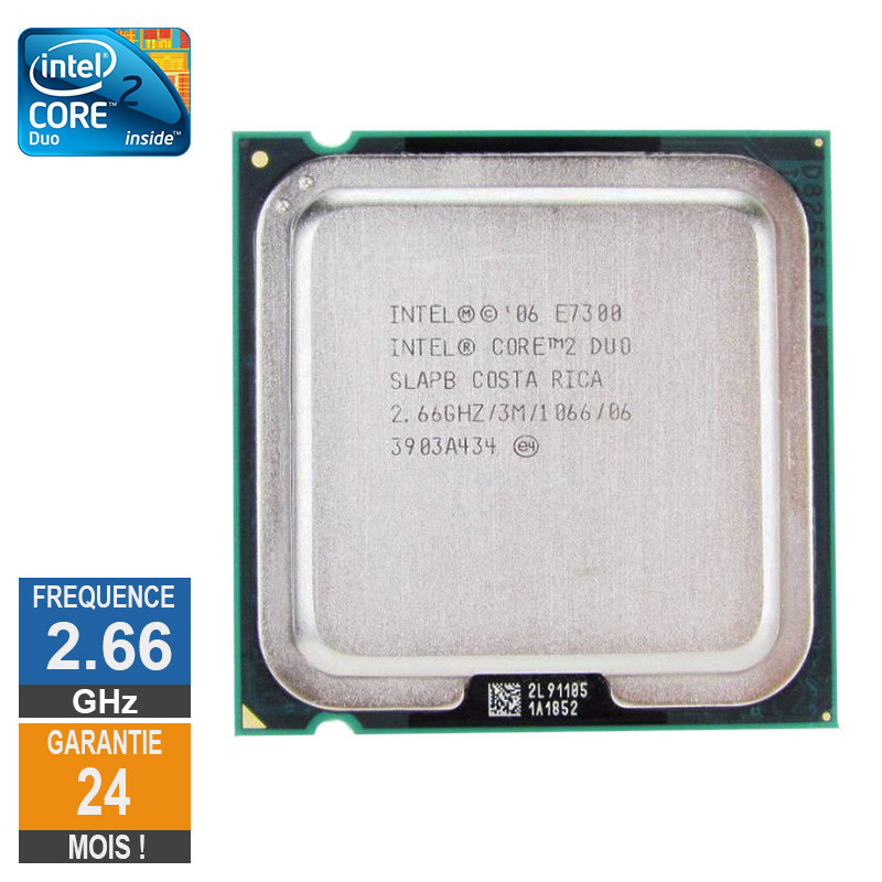 CPU Intel Core 2 Duo E7300 2.66GHz...