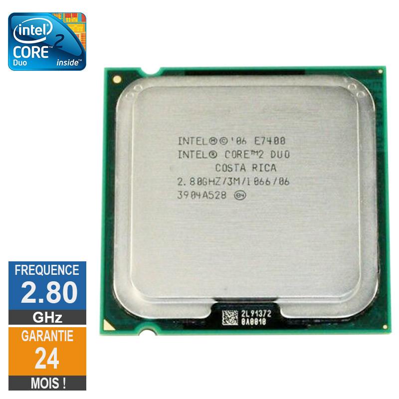 Processeur Intel Core 2 Duo E7400...