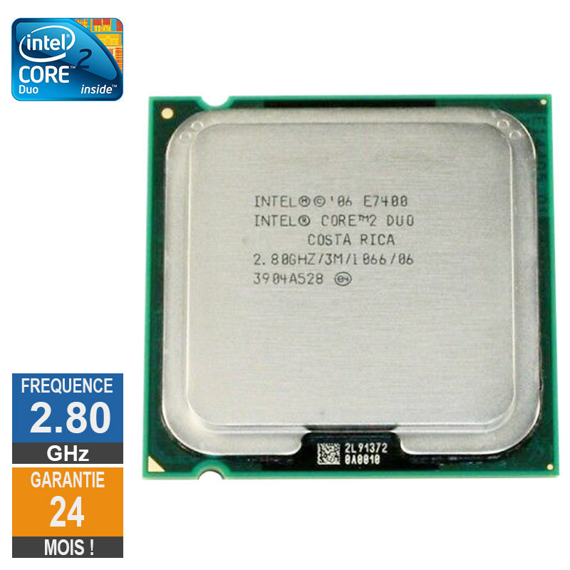 Processeur Intel Core 2 Duo E7400...