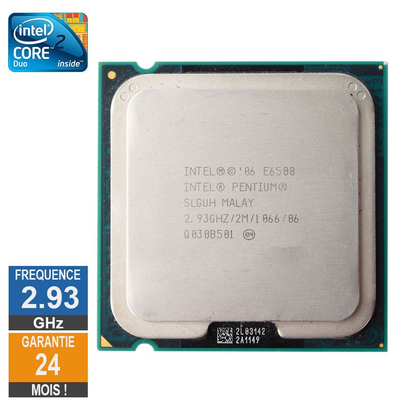 CPU Intel Core 2 Duo E6500 2.93GHz...
