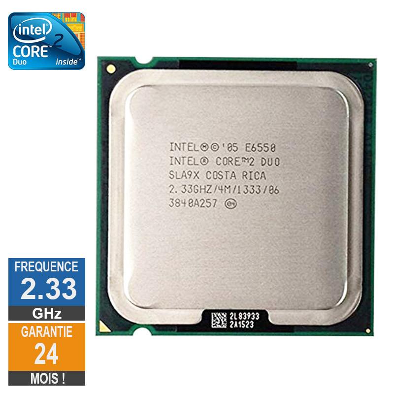 Processeur Intel Core 2 Duo E6550...