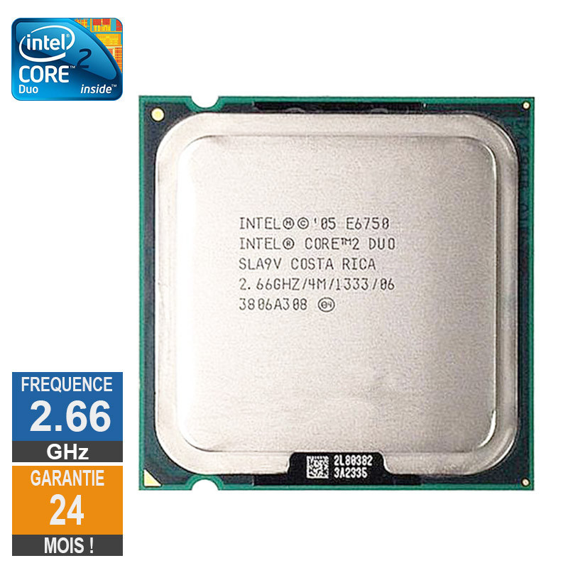 CPU Intel Core 2 Duo E6750 2.66GHz...