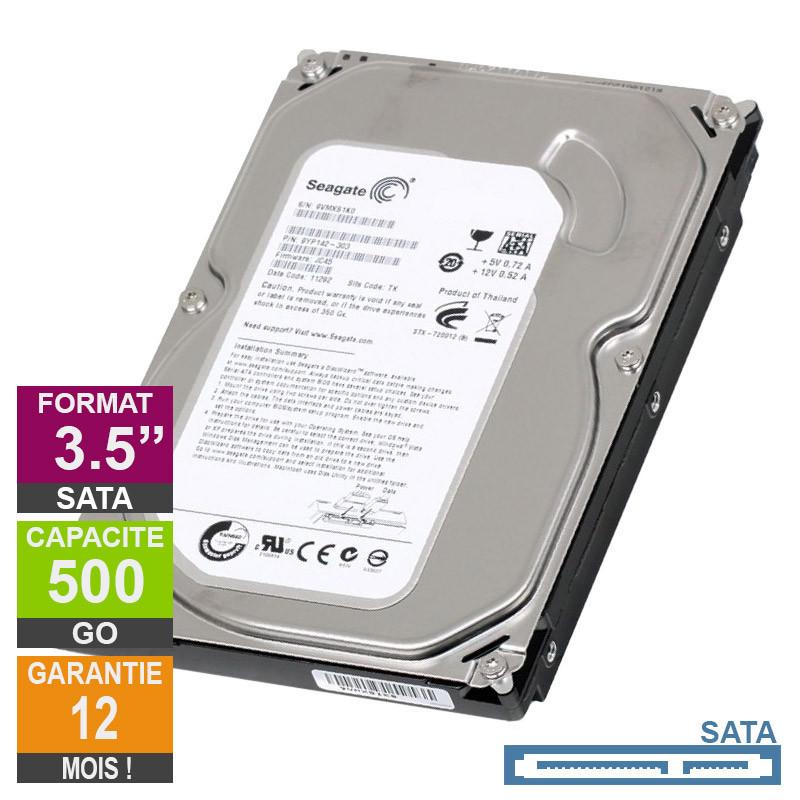 Hard Drive 500GB SATA 3.5 Seagate...