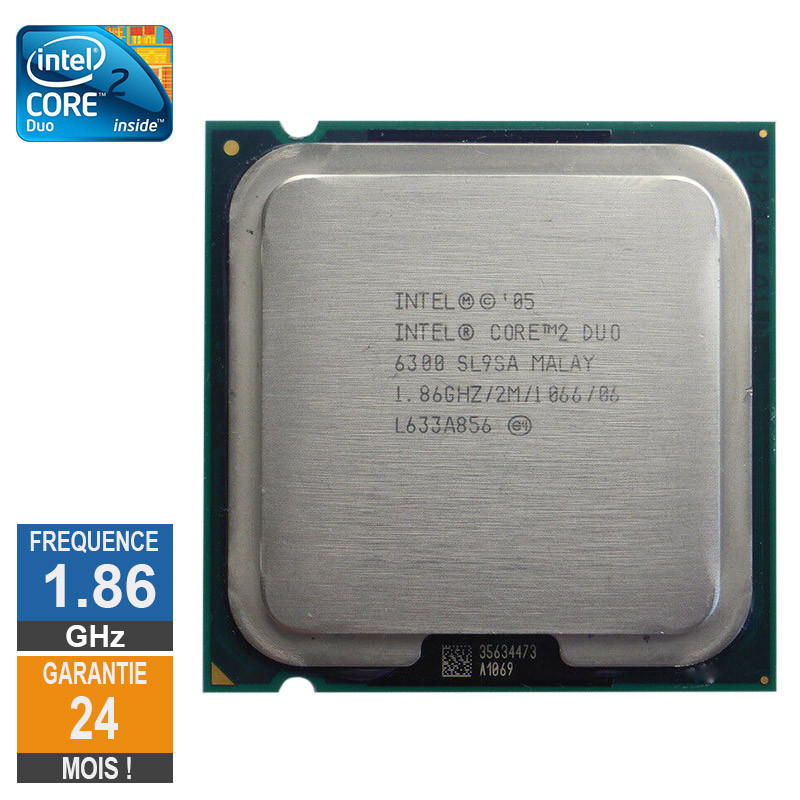 Processeur Intel Core 2 Duo E6300...