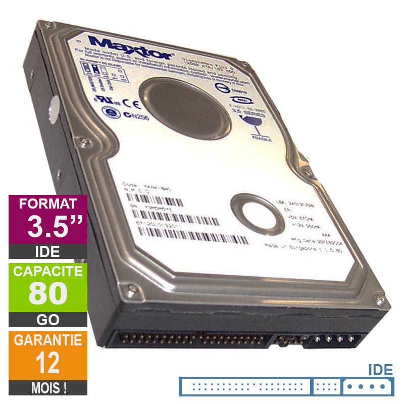 Hard Drive 80GB IDE 3.5 Maxtor...