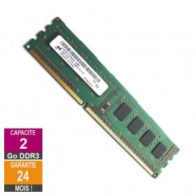 RAM Memory 2GB RAM DDR3 Micron MT8KTF25664AZ-1G4M1 DIMM PC3-10600U