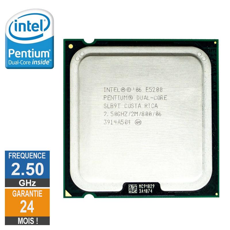 Processeur Intel Pentium D E5200...