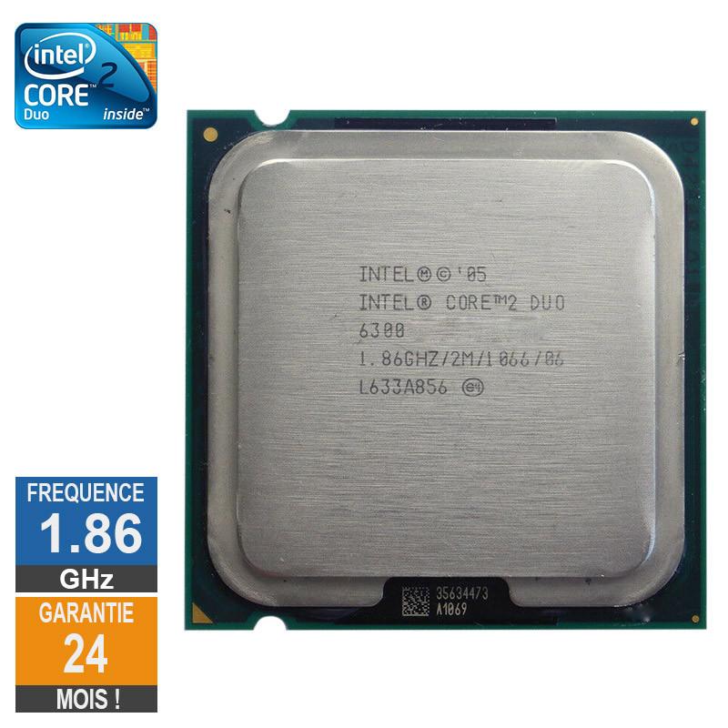 CPU Intel Core 2 Duo E6300 1.86GHz...