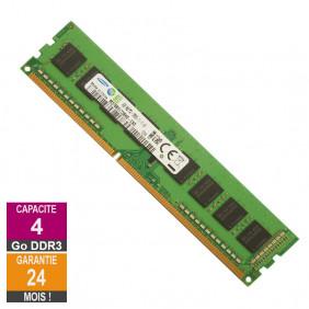 Barrette Mémoire 4Go RAM DDR3 Samsung M378B5173BH0-CK0 DIMM PC3-12800U