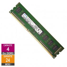 Barrette Mémoire 4Go RAM DDR3 Samsung M378B5173EB0-YK0 DIMM PC3L-12800U 1Rx8