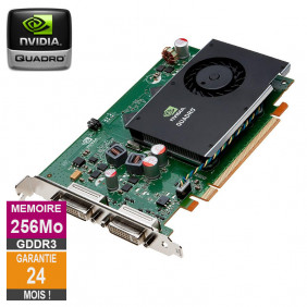 Carte graphique Nvidia Quadro FX 380 256Mo GDDR3 PCI-e DVI