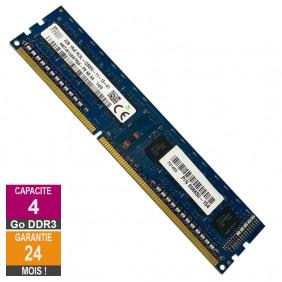 Barrette Mémoire 4Go RAM DDR3 Hynix HMT451U6AFR8A-PB DIMM PC3L-12800U