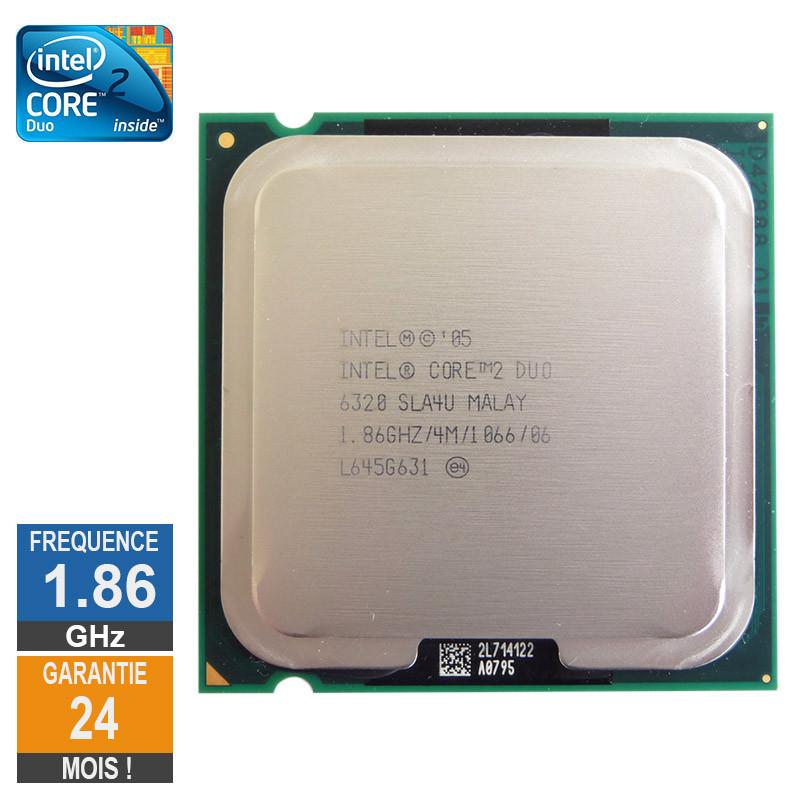 Processeur Intel Core 2 Duo E6320...
