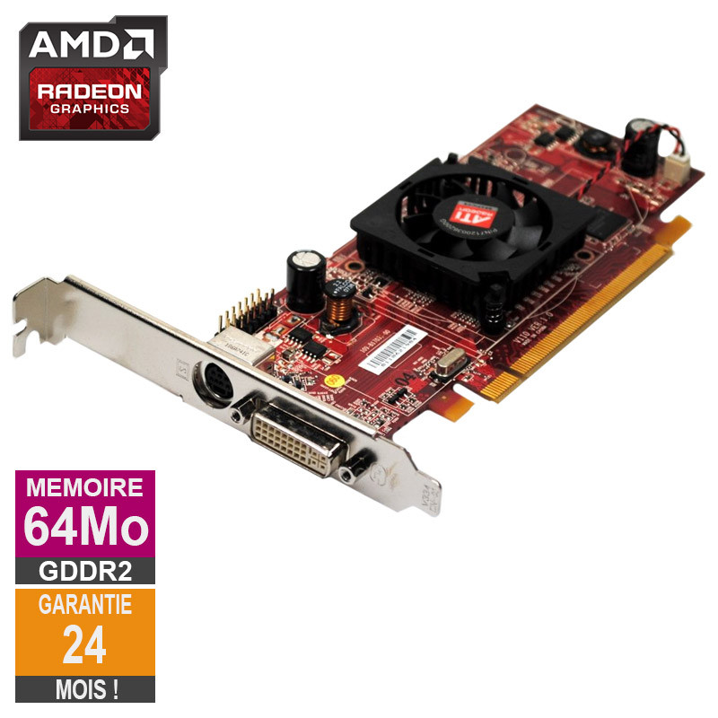 Carte graphique AMD Radeon HD 2350...