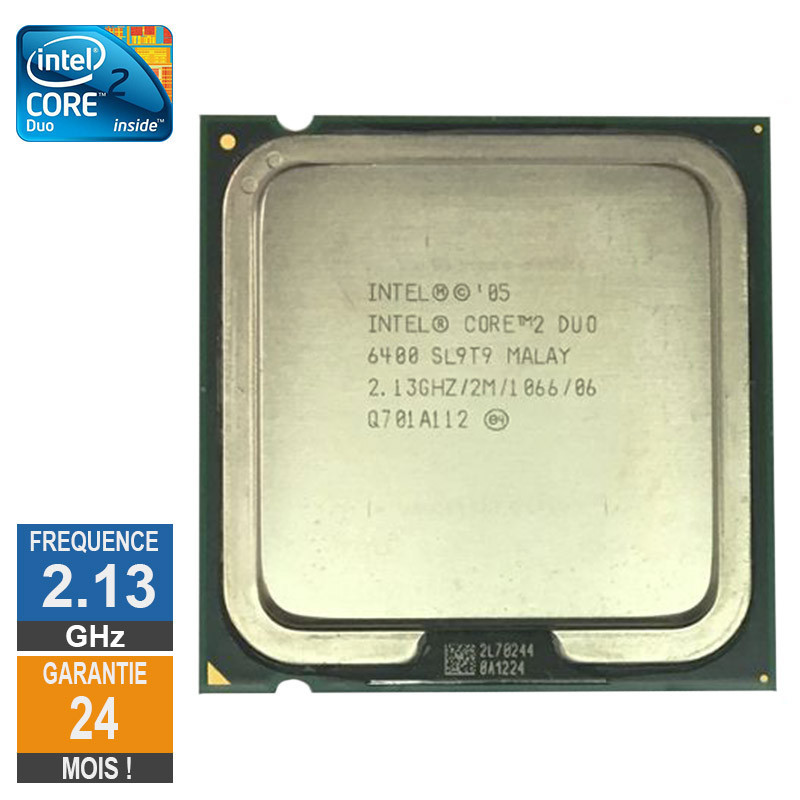 Processeur Intel Core 2 Duo E6400...
