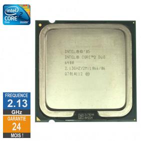 Processeur Intel Core 2 Duo E6400 2.13GHz SL9S9 LGA775 2Mo
