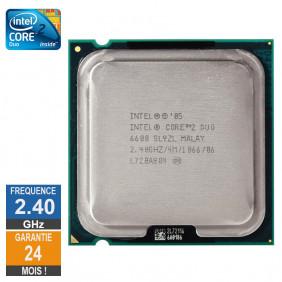 CPU Intel Core 2 Duo E6600...