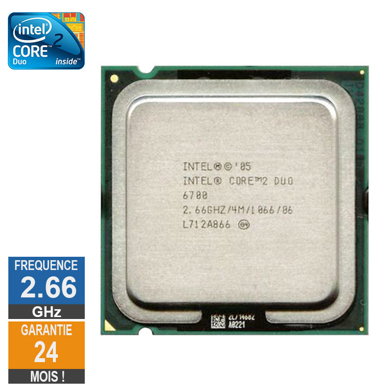Processeur Intel Core 2 Duo E6700...