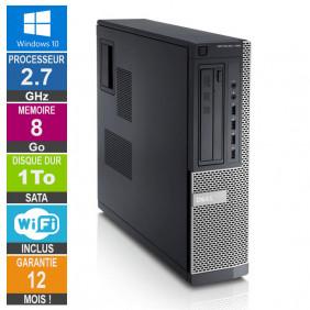 PC Dell Optiplex 790 DT G630 2.70GHz 8Go/1To Wifi W10