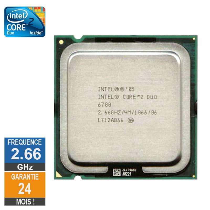 Processeur Intel Core 2 Duo E6700...