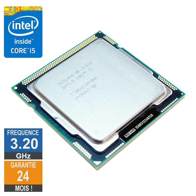 Processeur Intel Core I5-650 3.20GHz...