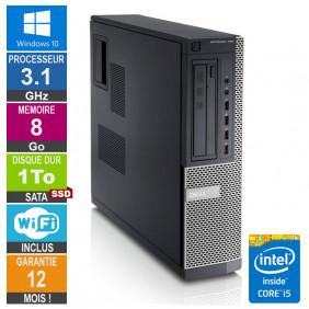 PC Dell Optiplex 790 DT I5-2400 3.10GHz 8Go/1To SSD Wifi W10