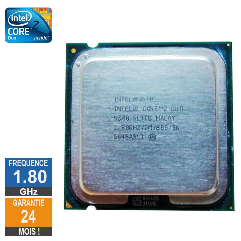 Processeur Intel Core 2 Duo E4300...