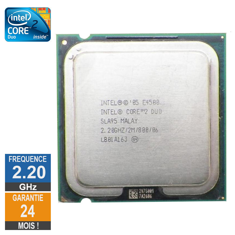CPU Intel Core 2 Duo E4500 2.20GHz...