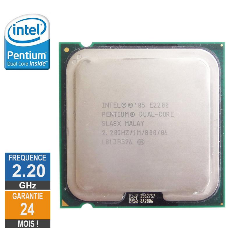Processeur Intel Pentium Dual-Core...