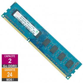 Barrette Mémoire 2Go RAM DDR3 Hynix HMT125U6TFR8C-G7 DIMM PC3-8500U