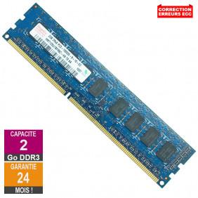 Barrette Mémoire 2Go RAM DDR3 Hynix HMT125U7BFR8C-H9 DIMM PC3-10600E