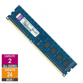 Barrette Mémoire 2Go RAM DDR3 Kingston K1N7HK-HYC DIMM PC3-10600U