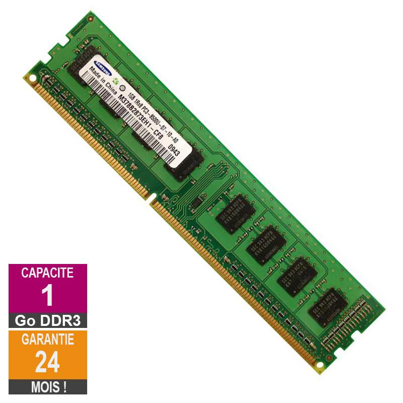 Barrette Mémoire 1Go RAM DDR3 Samsung...