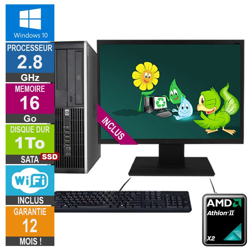 PC HP Pro 6005 SFF Athlon II X2 B22...