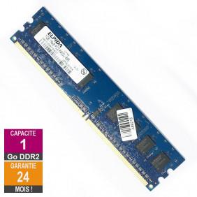 Barrette Mémoire 1Go RAM DDR2 Elpida EBE10UE8AFFA-8G-F DIMM PC2-6400U 1Rx8