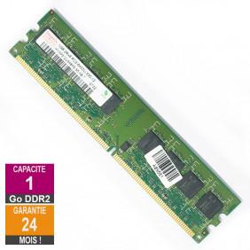 Barrette Mémoire 1Go RAM DDR2 Hynix HYMP512U64BP8-S5 DIMM PC2-6400U 2Rx8