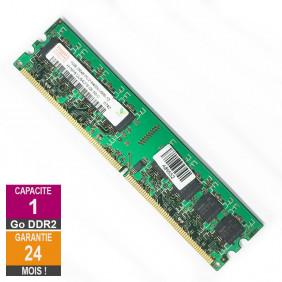 Barrette Mémoire 1Go RAM DDR2 Hynix HYMP512U64CP8-S6 DIMM PC2-6400U 2Rx8