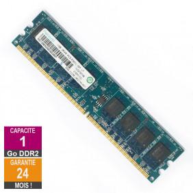 RAM Memory 1GB RAM DDR2 Ramaxel RML1320EJ38D7W-667 DIMM PC2-5300U 2Rx8