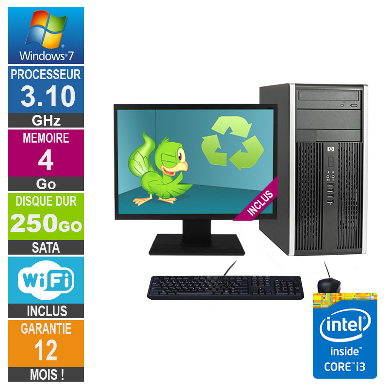PC HP Pro 6200 MT Core i3-2100...
