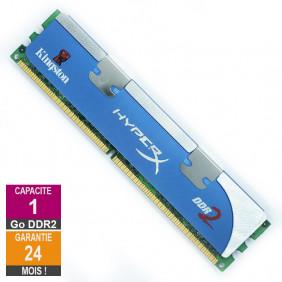 Barrette Mémoire 1Go RAM DDR2 Kingston KHX6400D2K2/2G DIMM PC2-6400U 2Rx8