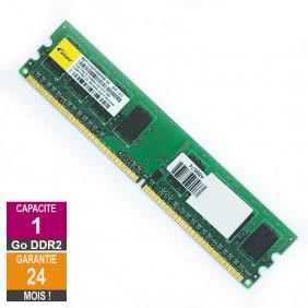 Barrette Mémoire 1Go RAM DDR2 Elixir M2Y1G64TU88D6B-AC DIMM PC2-6400U 1Rx8