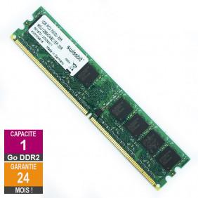 Barrette Mémoire 1Go RAM DDR2 Swissbit MEU12864D4BC1EP-30R DIMM PC2-5300U 1Rx8