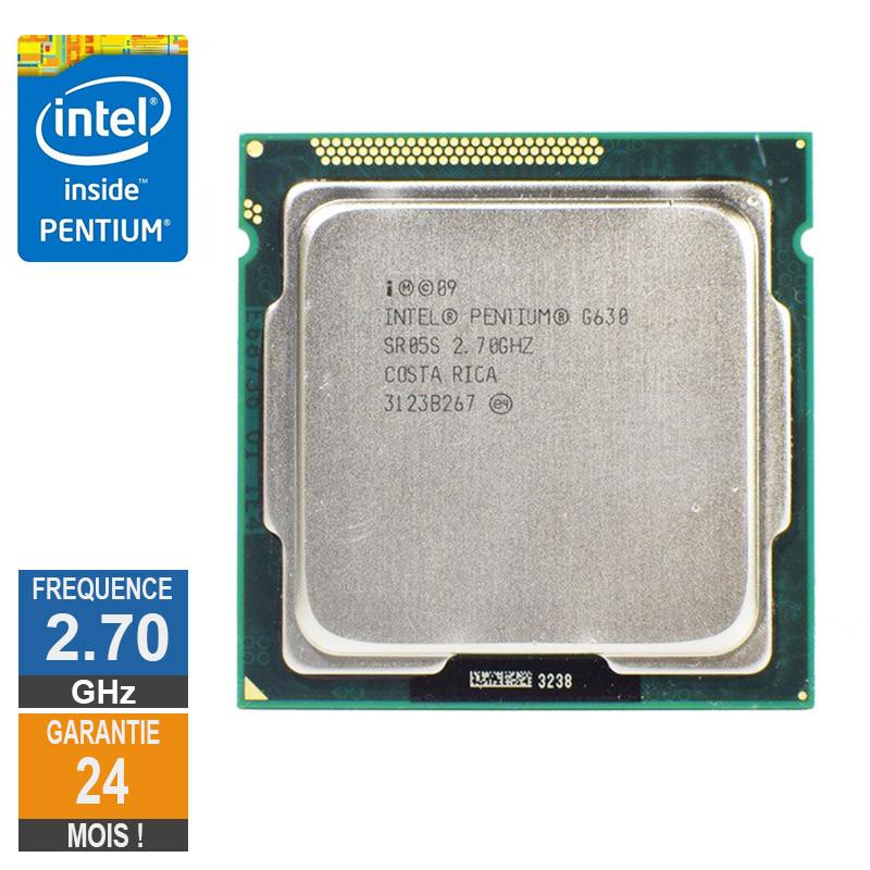 Processeur Intel Pentium G630 2.70GHz...